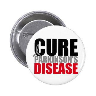 CURE Parkinsons Disease 6 Cm Round Badge