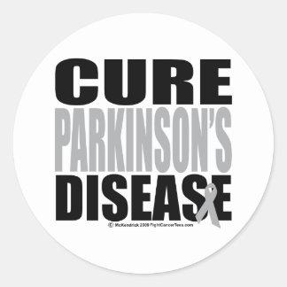 Cure Parkinson's Disease Round Sticker