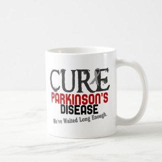 CURE PARKINSON'S DISEASE T-SHIRTS & GIFTS BASIC WHITE MUG
