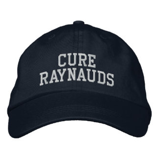 """""""Cure Raynauds"""" - Embroidered Hat"""