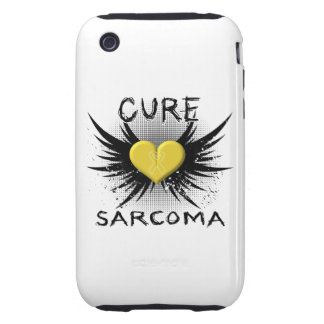 Cure Sarcoma Tough iPhone 3 Cases