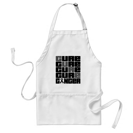 CURE Skin Cancer Collage Apron