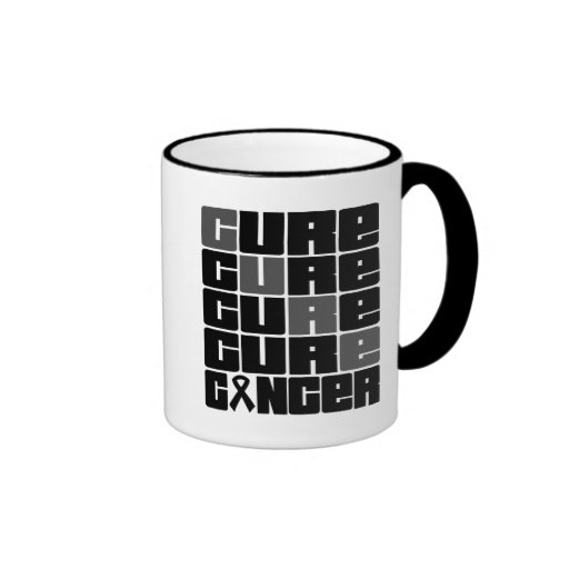 CURE Skin Cancer Collage Mugs