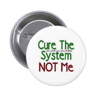 Cure The System Button