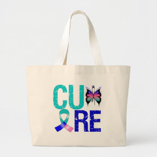 Cure Thyroid Cancer Tote Bags