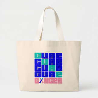 CURE Thyroid Cancer Collage Canvas Bag