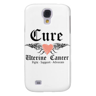 Cure Uterine Cancer Too Wings Galaxy S4 Cover