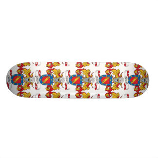 Curiel Family Crest 20.6 Cm Skateboard Deck