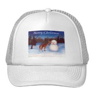 Curiosity Christmas Hat