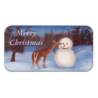 Curiosity Christmas IPhone 4 Case