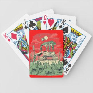 Curiosity of Mars Poker Cards