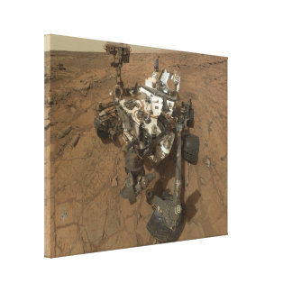 Curiosity Rover Gallery Wrap Canvas