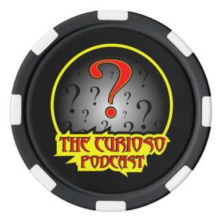 Curioso Podcast poker chip