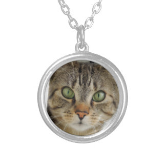 curious cat necklace approximately