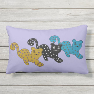Curious Cats Throw Cushions
