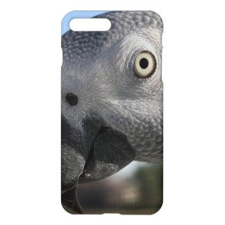 Curious Congo African Grey Parrot iPhone 7 Plus Case