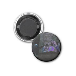 Curious Crow Faeries Refrigerator Magnet