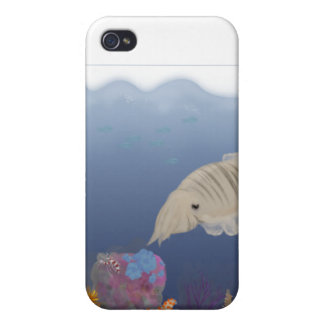 Curious Cuttlefish iPhone 4/4S Cases