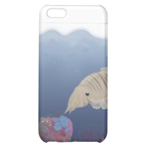 Curious Cuttlefish iPhone 5C Cases
