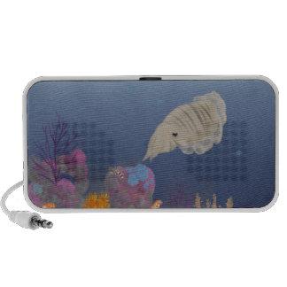 Curious Cuttlefish iPod Speaker