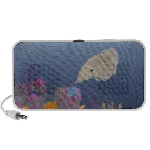 Curious Cuttlefish Mp3 Speakers