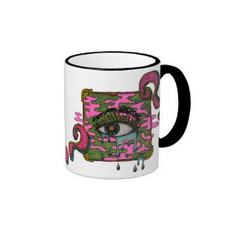 Curious eye mugs