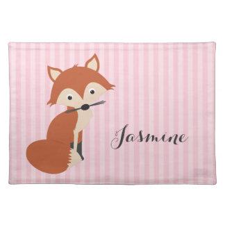 Curious Fox Placemat