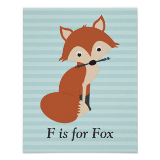 Curious Fox Poster