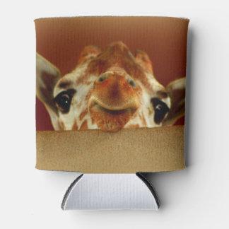 Curious Giraffe Can Cozy Can Cooler