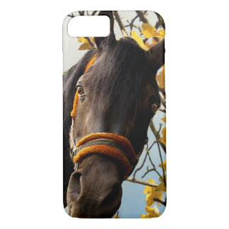Curious Horse Looking Through The Kitchen Window iPhone 7 Case
