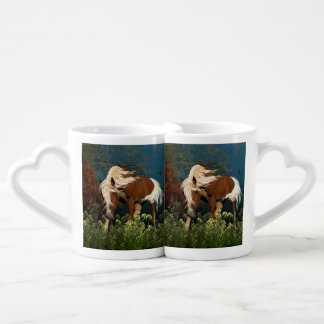 Curious Horse on a meadow Lovers Mugs