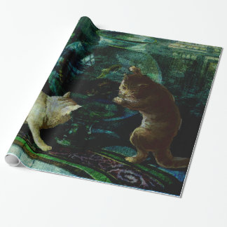 Curious Kittens Wrapping Paper