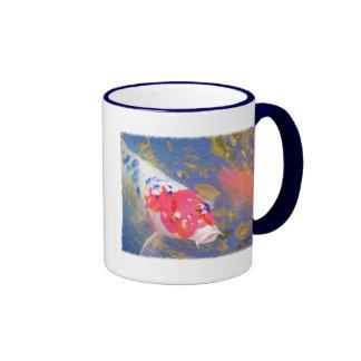 Curious Koi Coffee Mug