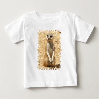 Curious Meerkat Baby T-Shirt