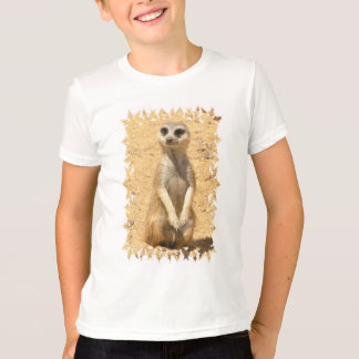 Curious Meerkat Children's T-Shirt