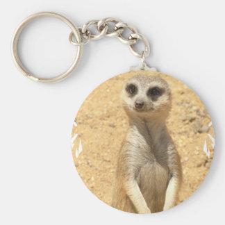 Curious Meerkat Keychain