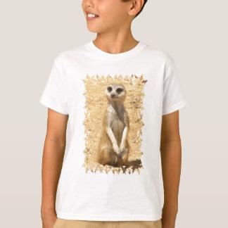 Curious Meerkat Kid's T-Shirt
