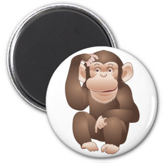 Curious Monkey Magnet