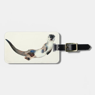 Curious Otter 2003 Luggage Tag