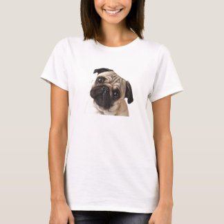Curious Pug T-Shirt