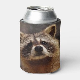 Curious Raccoon Can Cooler