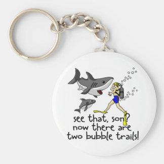 Curious Sharks Keychains