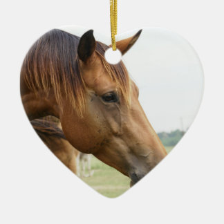 Curious Thoroughbred Ornament