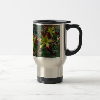 Curious Whiskers and Scarlet Pimpernel on a mug