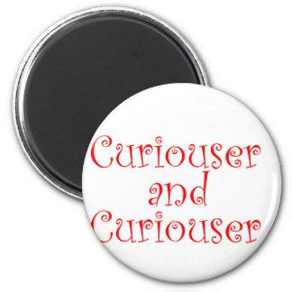 Curiouser & Curiouser 6 Cm Round Magnet