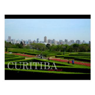 Curitiba Brazil Postcard