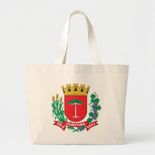 Curitiba Coat of Arms Tote Bags