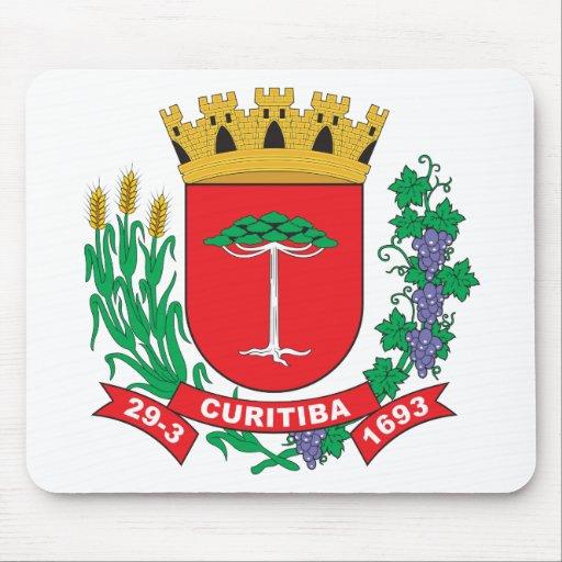 Curitiba Coat of Arms Mouse Pad