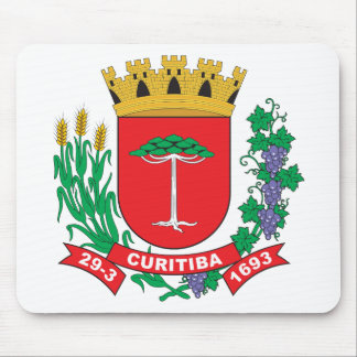 Curitiba Coat of Arms Mouse Pad