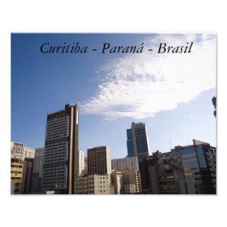 Curitiba - Paran3a - Brazil Photographic Print